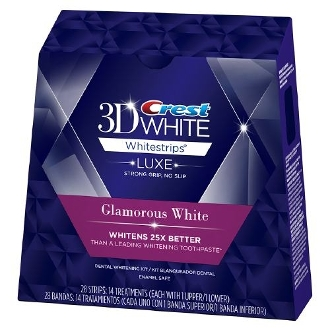 Crest 3D White Luxe Glamorous White - Teeth Whitening Kit $49