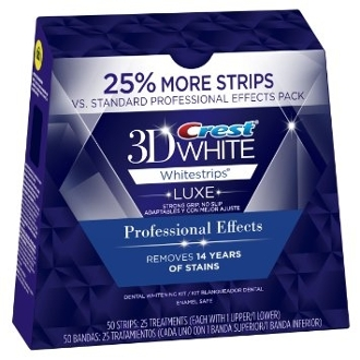 Crest 3D White Luxe Whitestrips Professional Effects 25% BONUS
