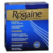 Men's Rogaine Extra Strength Hair Regrowth Treatment, Liquid