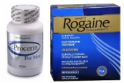Men's Rogaine 5% Liquid 3-Months and 3 Months Procerin