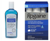 One Men's Rogaine 5% Foam 3-Months and one Dr. Varon's Shampoo