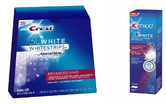 One Crest Advanced Vivid 14 + One Luxe Glamorous Toothpaste 4 oz
