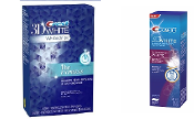 One Crest 3D 1 Hour Express + One Luxe Glamorous Toothpaste 4 oz