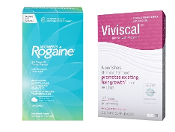 4-Months Women's Rogaine Hair Regrowth Foam and Viviscal 60 tabl