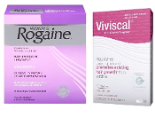 3-Months Women's Rogaine Hair Regrowth and Viviscal 60 tablets