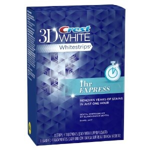 Crest 3D White Whitestrips 1 Hour Express $39
